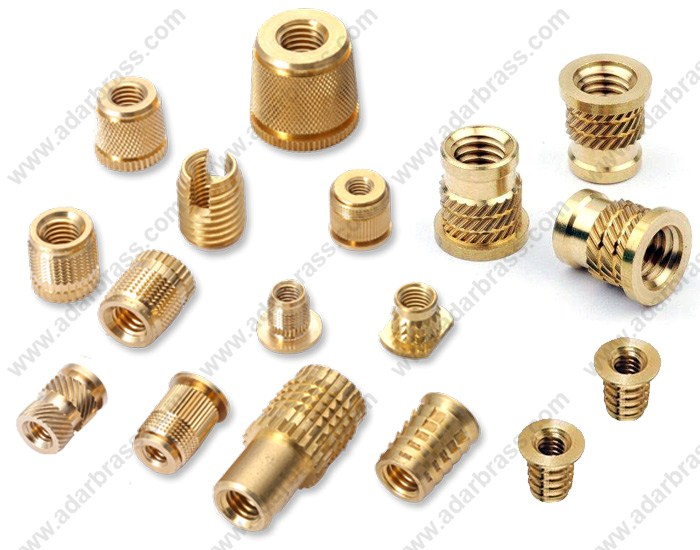 Adar Industries | Brass Inserts